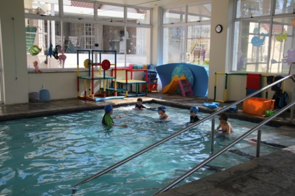 Class in big pool